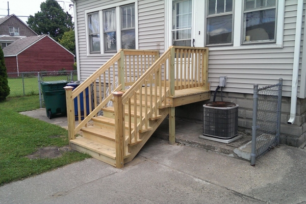 Front porch rebuild