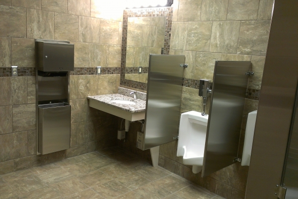 Commercial Bathroom Remodel Men's