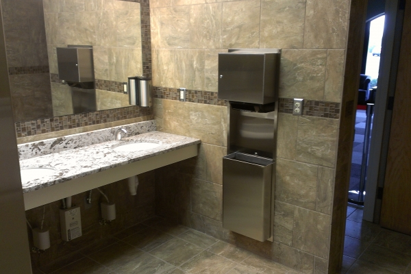 Commercial Bathroom Remodel Women's